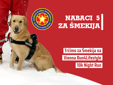 Nabaci 5 za Šmekija - Vienna Run4Lifestyle 10k Night Run